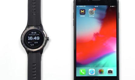 Virmee VG3 smart watch set message notifications For IOS Phone