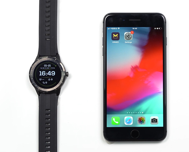How to Set Message Notifications with Virmee VG3 Smart Watch for IOS Phone?