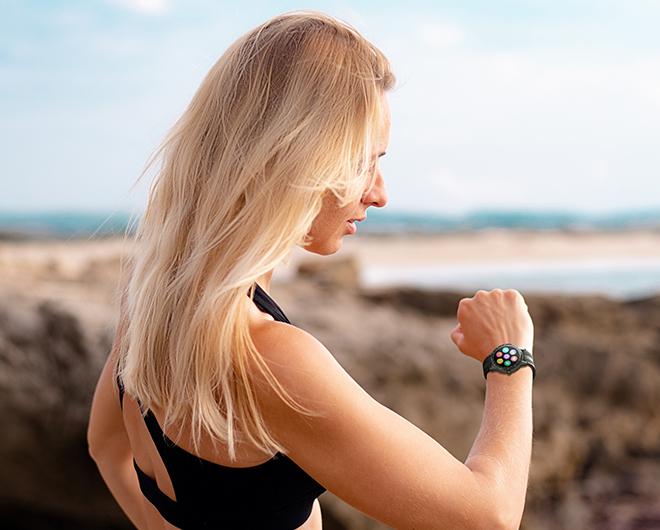 Virmee smart watch sleep track